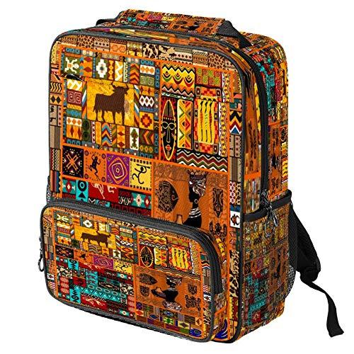 Mochila escolar casual con diseño de gatos con estampado de trípticos, mochila multifuncional, Patrón #5 (Multicolor) - backpacks013