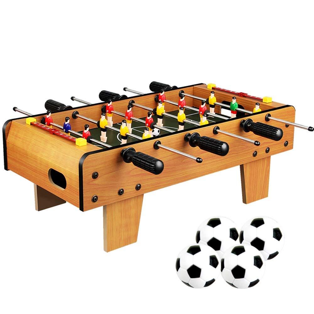 Pkjskh Fútbol de mesa for todas las edades 6 y mayores 6 filas Juego de fútbol