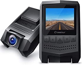 Dash Cam 1080P Crosstour Mini Car Camera (170°Wide Angle, Paking Mode, Motion Detection, G-Sensor)