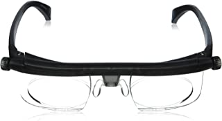 Adlens Adjustable Eyewear - Instant 20/20 Vision - Non Prescription Lenses - Nearsighted & Farsighted - Computer + Reading + Driving Variable Focus Glasses - For Men & Women - By California Products