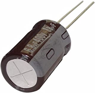 2 x condensadores electrol/íticos radiales 47/µF /± 20/% 400V THT 105/°C 10000h /Ø16x25mm AERZETIX