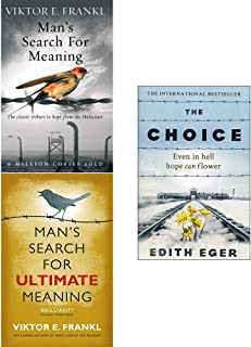Mans Search For Meaning, Ultimate Meaning, The Choice 3 Books Collection Set