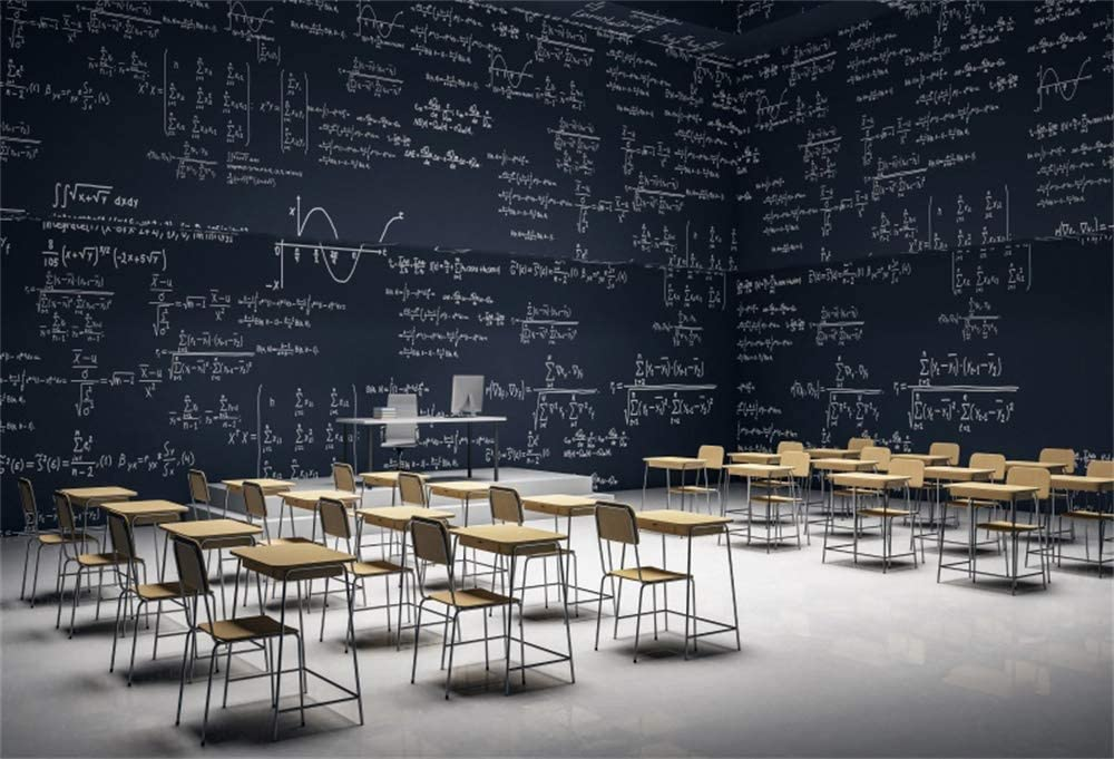 Yeele 10x7ft Back to School Class Teaching Max 57% OFF Math Online Backdrop Excellence