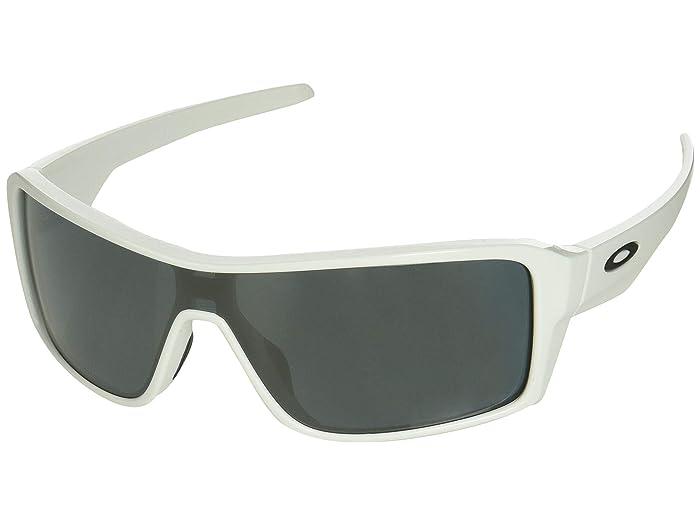 Oakley Ridgeline (Polished White/Prizm Black) Sport Sunglasses