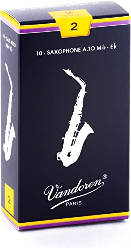 Vandoren SR212 10 Anches pour Saxophone Alto 2