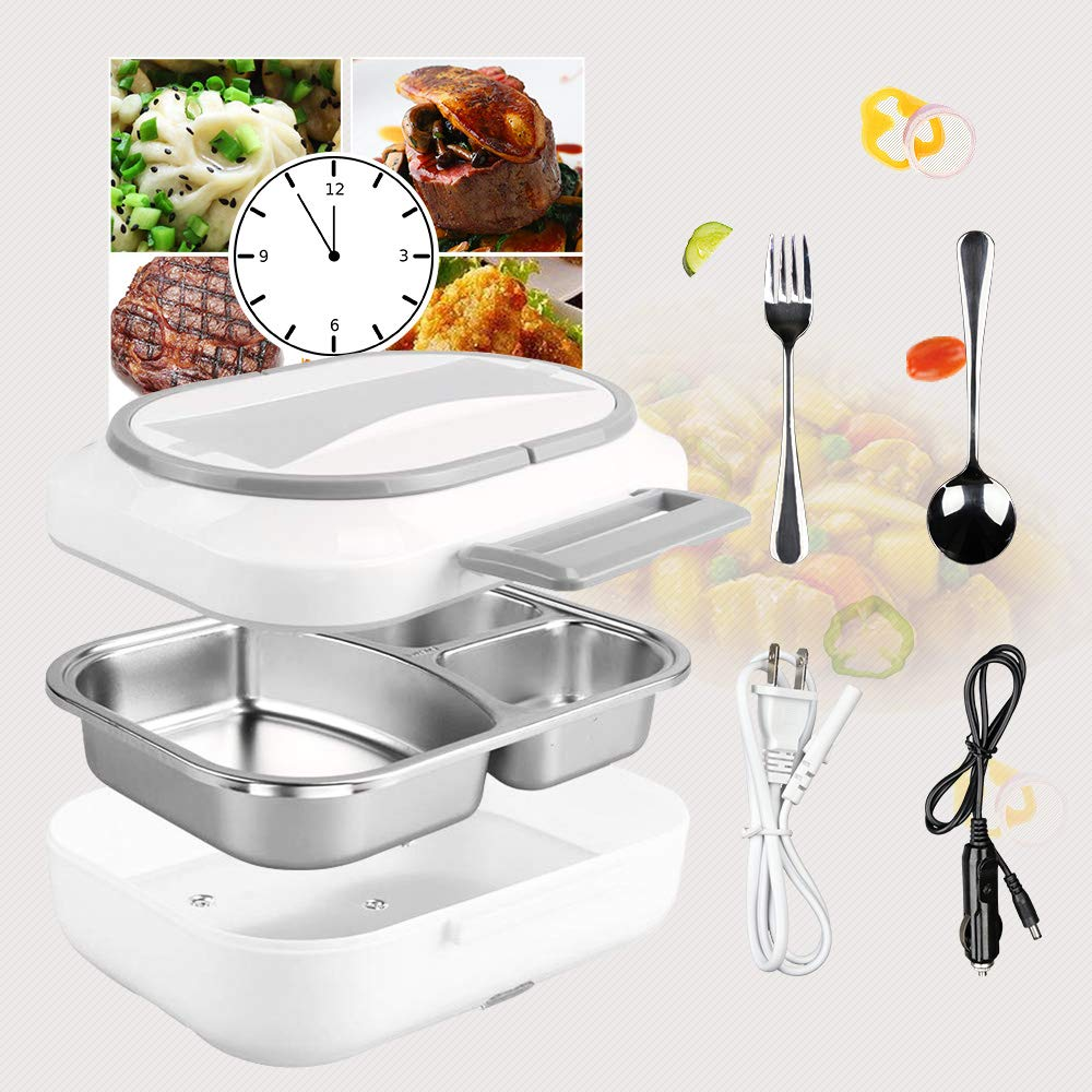 Electric Lunch Box Removable Stainless
