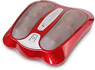 Foot Massagers, Electric Shiatsu Foot Massager With Heat, Deep Kneading Rotating Heads & Soothing Heat For Plantar Fasciitis Upgrade