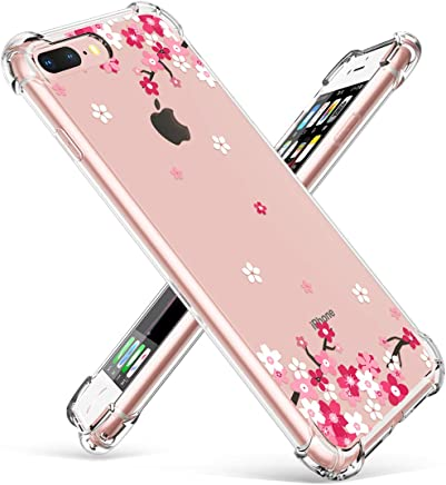 newest f9853 b53d3 Amazon.ae: iphone 7 plus girly case with print