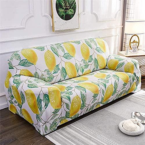 BABYCOW Fundas elásticas para sofá, Fundas para Silla, Funda para sofá Estampada en Forma de L, Funda para sillón, Funda para Muebles, Protector para sofá-15_X-Large
