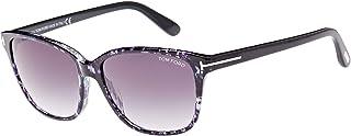 نظارة شمسية بتصميم مربع للنساء من توم فورد - FT0432-55W - 59-15-140 ملم