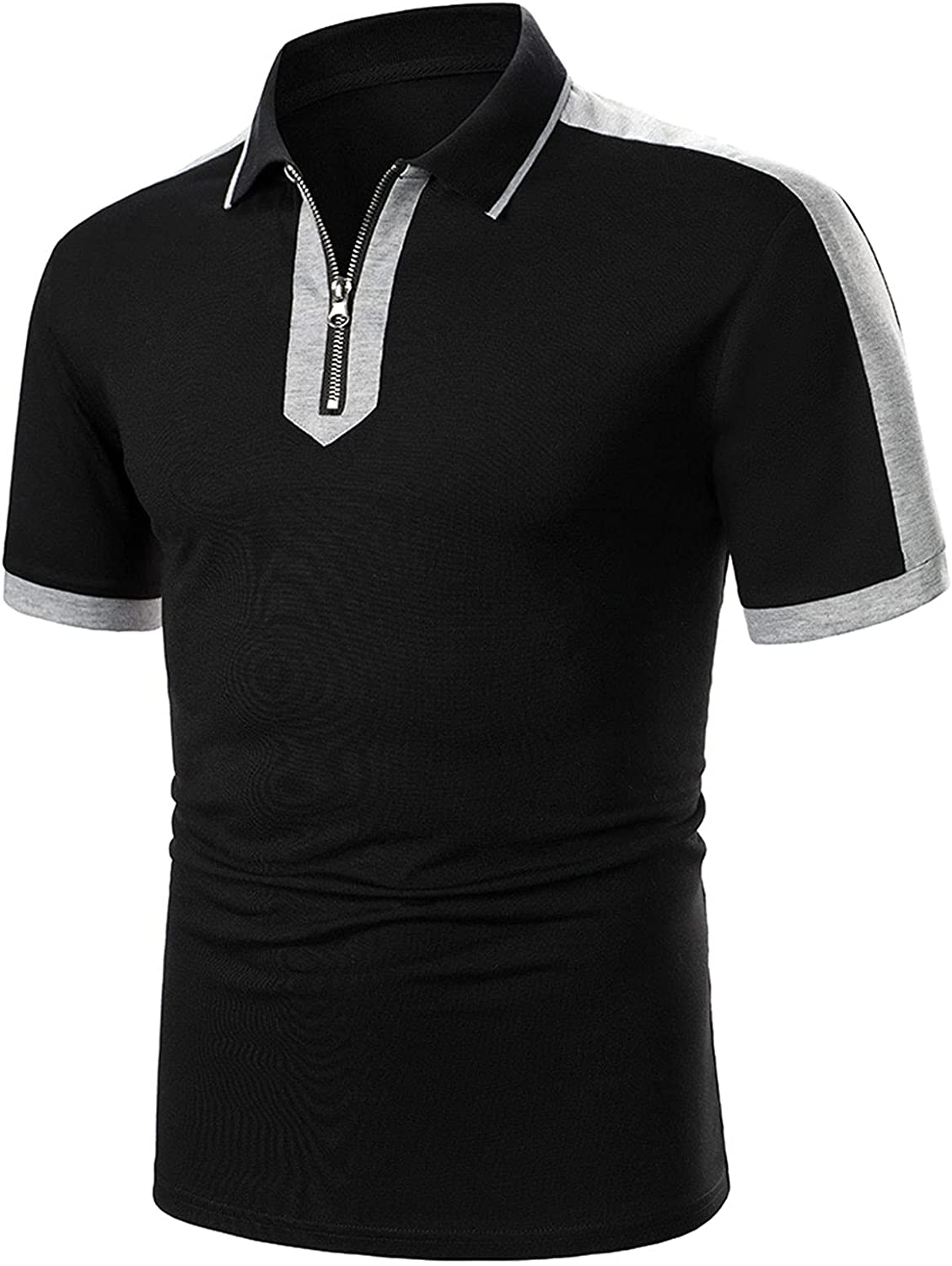 Polo Shirt for Free Shipping New Men Classic Fit Jersey Top Short Sleeve Casual 100% quality warranty! La