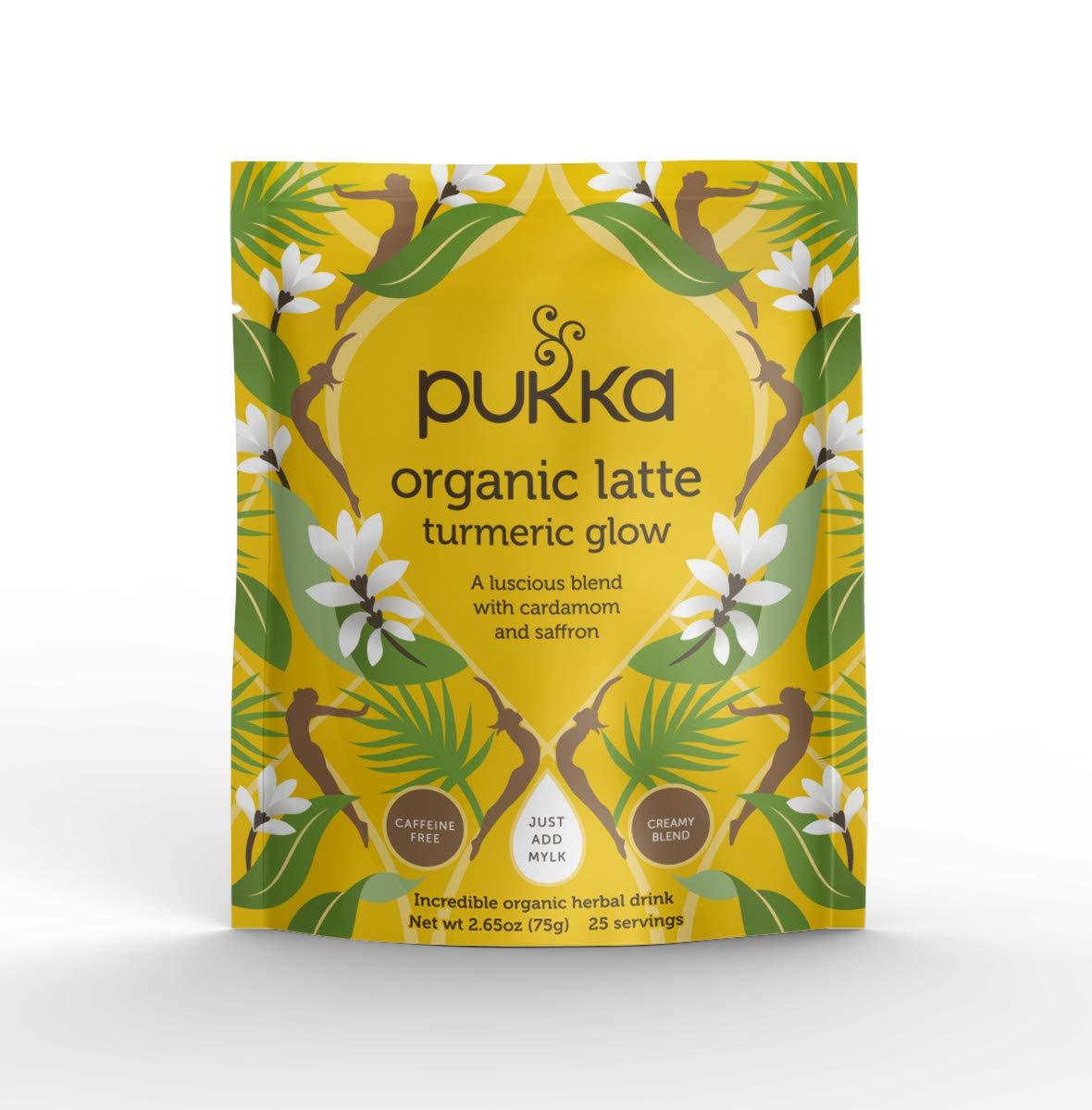 Pukka Organic Herbal Latte 2.65 Max 74% OFF Glow oz Turmeric Max 57% OFF