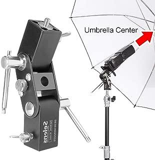 Selens Flash Shoe Umbrella Holder Light Stand Bracket for Canon/ Nikon/ Yongnuo (SE-L012)