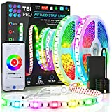 [Upgraded 2020] WiFi LED Strip Lights 32.8ft by TBI Waterproof Smart Works with Alexa, Google Home...