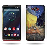 for Motorola Droid Turbo XT1254 (Not Compatible w/Ballistic Nylon) Case, by CoverON Slim Hard Design Back Cover - Terrace Cafe