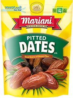 Mariani Pitted Dates - 40oz (Pack of 1) – Exceptional Taste and Soft Texture, No Sugar Added, Good Source of Dietary Fiber...