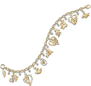 Disney Winnie The Pooh & Friends Charm Bracelet by The Bradford Exchange