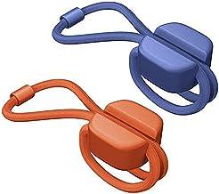 BlueLounge PX-SM-02 Pixi Multi-Purpose Ties, Orange and Blue, Small