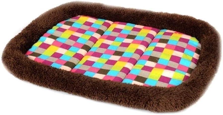 FGH QPLKKMOI Plush Small Dog Brand Cheap Sale Max 49% OFF Venue Self-Warming Anti- Pet Cat Bed