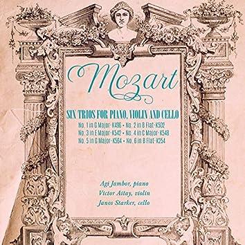Mozart: Six Trios for Piano, Violin and Cello