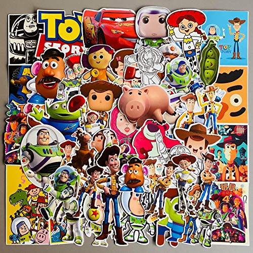Toy Story Sticker Luggage Suitcase Laptop Guitar ipad Mobile Shell Sticker 50PCS