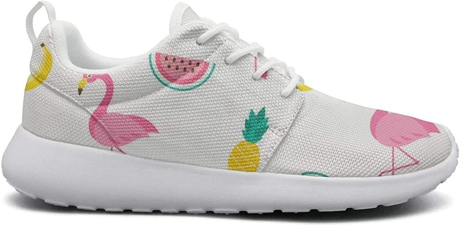 UISLE7 Yellow Red Pink Donut Cake Novelty Womens Cute Lightweight Sneakers Running shoes Walking