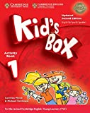 Kid's Box Level 1 Activity Book with CD-ROM Updated English for Spanish Speakers Second Edition - 9788490366080