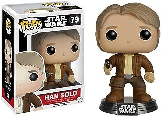 Star Wars Han Solo: Funko POP! x Vinyl Bobble-Head Figure w/ Stand + 1 Free Official Trading Card Bundle [65843]