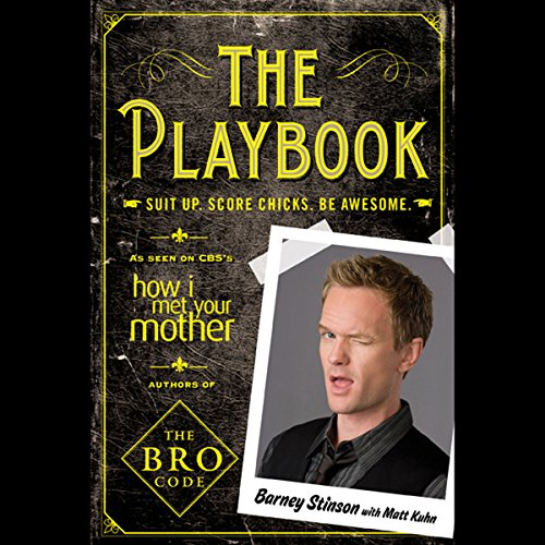 The Playbook Audiobook By Barney Stinson, Matt Kuhn cover art