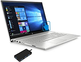"HP Envy - 17t (2020) 10th Gen Laptop (Intel i7-10510U 4-Core, 32GB RAM, 1TB PCIe SSD + 1TB HDD, GeForce MX250, 17.3"" Touch"