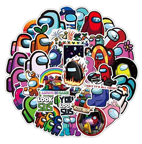 Later Among us Among Us Sticker Game Between Us Ordenador Notebook iPad Tablet Decoración Pegatina 50pcs