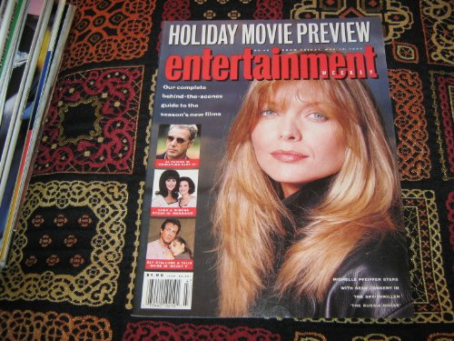 Entertainment Weekly Magazine (Michelle pfeiffer , Zl pacino , Cher & Winona , Sly Stallone & Talia, November 16 , 1990)