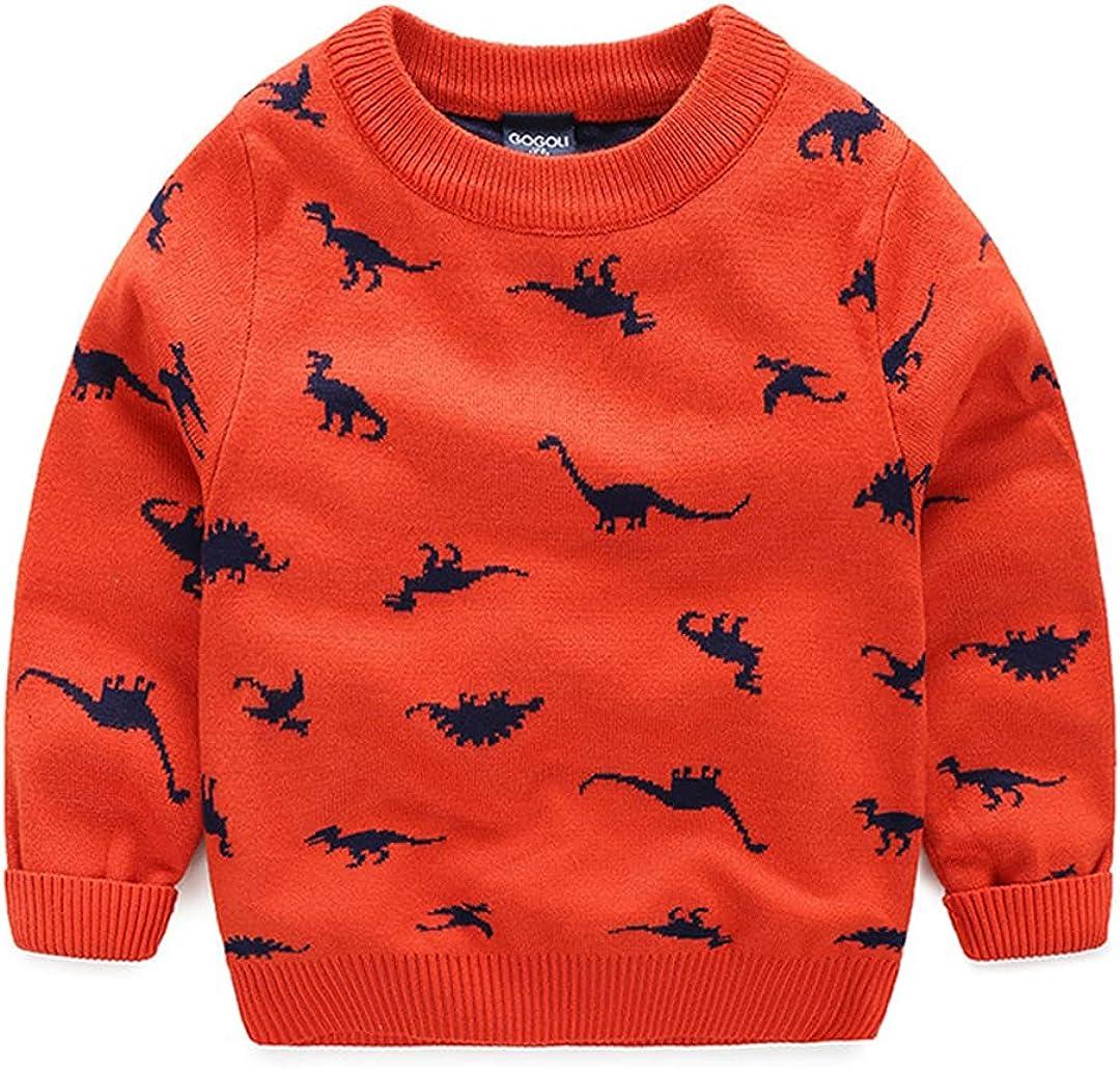 HEYDHSDC Autumn Winter Cartoon Children's Sweater Baby Wool Boy Boy Sweater
