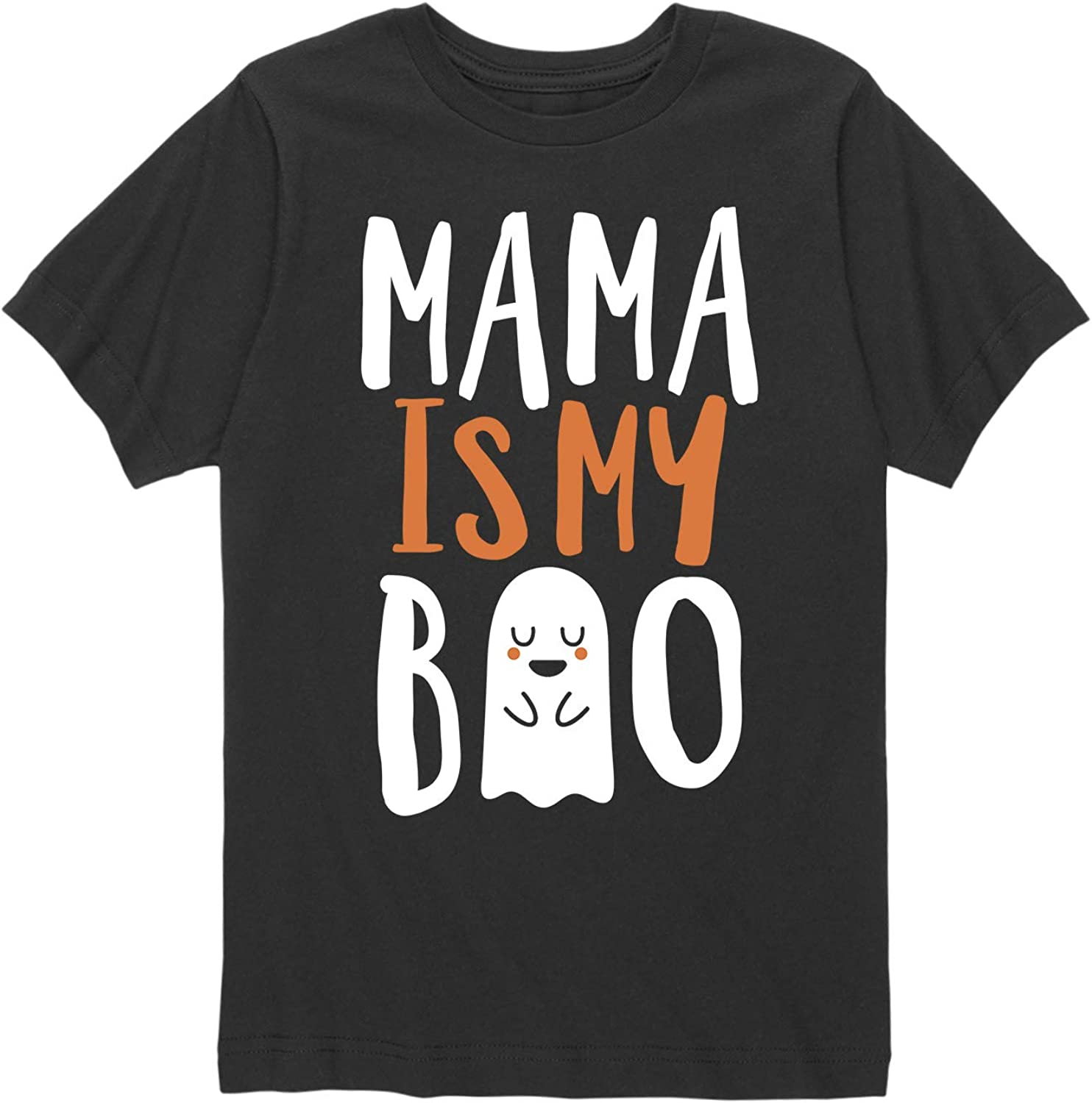 Instant Message Mama is My Boo Toddler Short Sleeve Tee