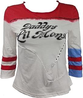Women Short Sleeve Costumes Cosplay Tee Shirt Girls Halloween Print Top T-Shirt for Adult