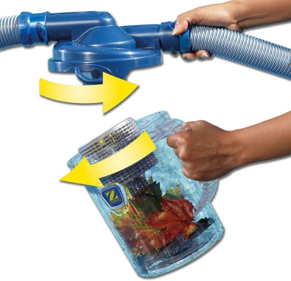 CLC500 Pack of 2 Zodiac Automatic Swimming Pool Cleaner Cyclonic Leaf Catcher Canister