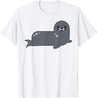 Bébé phoque dessin animé mignon T-Shirt