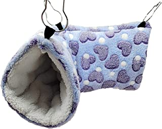 Yu-Xiang Love Hamster Play Tunnel Mouse Agility Tunnels Small Animals Toy Hunting and Resting Hammock Mice House Rats Bed ...