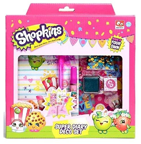 Disney SK16235 Princess Shopkins Diary Deco Set Caja