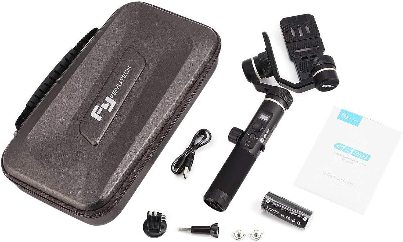 para mayoristas G6 Plus Plus Plus - Estabilizador de Cochedán de Mano de 3 Ejes WiFi para teléfonos Inteligentes con cámara GoPro Hero Sony RX100   Canon M10  marca