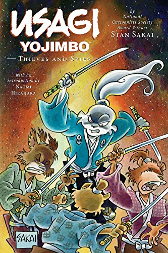 Usagi Yojimbo Volume 30: Thieves and Spies (English Edition)