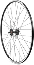 Formula Hubs / Alex Rims 700c Front Track Wheel Sealed Bearing Double Wall Matte Black
