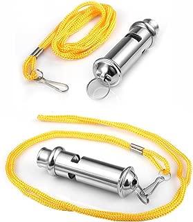 GARASANI Security Metal Whistle