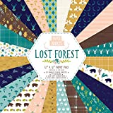 Paper Addicts Lost Forest Paper Pad 12' x 12'