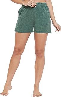 Clovia Women's Cotton Chic Basic Boxer Shorts