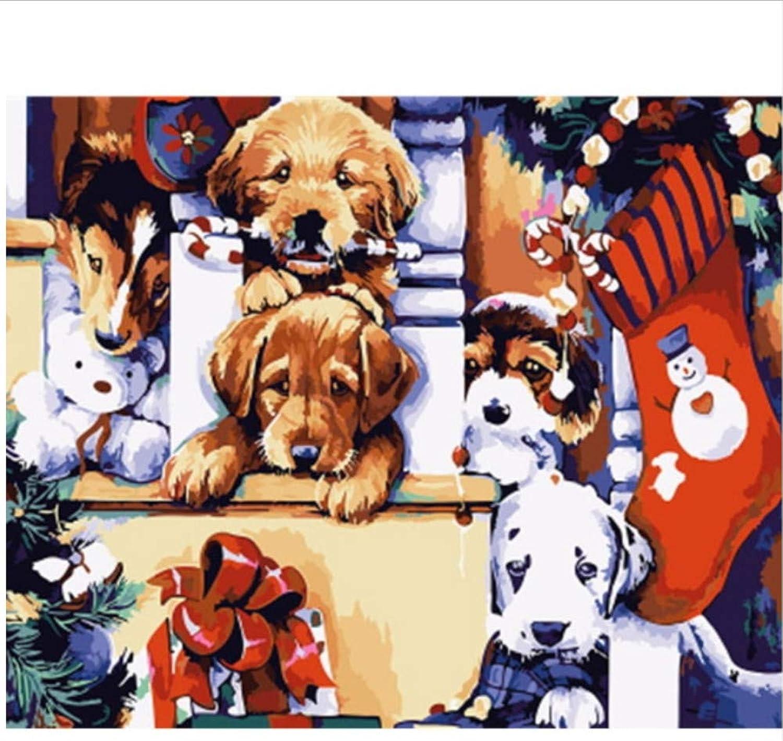CZYYOU Bild Tier DIY Malen Nach Zahlen Wohnkultur Für Wohnzimmer Hand Einzigartige Geschenke 40x50cm-Mit Rahmen B07PQQRCYD | Shopping Online