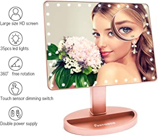 Best large lighted make up mirror Reviews