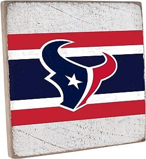 Rustic Marlin Designs NFL Unisex NFL Vintage Square Sign- White