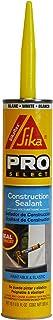 SIKA 90618 Sikaflex Construction, 10.1 fl. oz, White 10OZ WHT Const Sealant, 10-Ounce