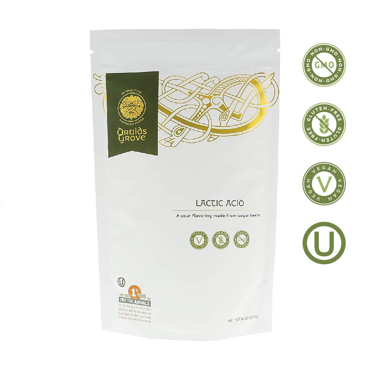 Bargain Druids Grove Lactic Acid store ☮ Vegan Glut ❤ ⊘ Non-GMO